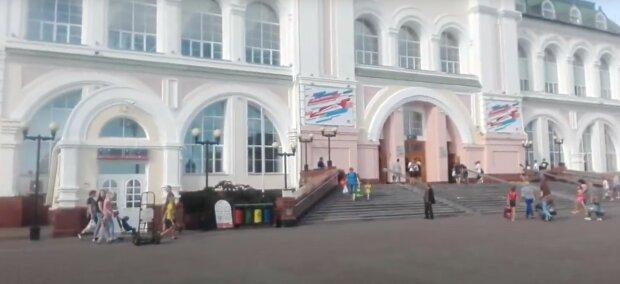 залізничний вокзал Хабаровська
