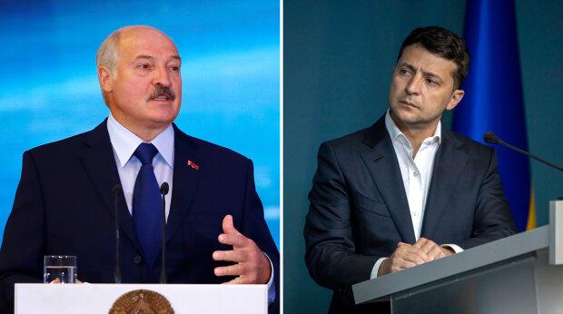 Зеленський та Лукашенко