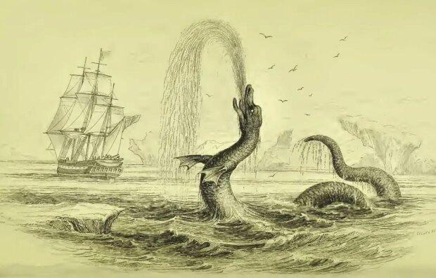 морське чудовисько