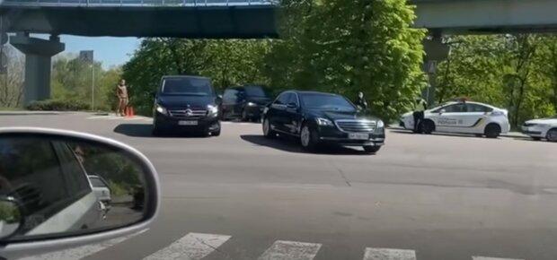 кортеж Володимира Зеленського