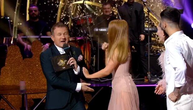 Тіна Кароль і Юрій Горбунов, скріншот з відео