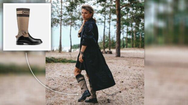 ДружиДружина міністра культури вийшла на прогулянку лісом у черевичках за 42 тисячі гривень