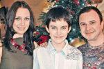 Віктор Павлік з колишньою дружиною та сином