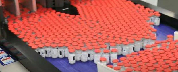 Вакцина від коронавірусу. Фото: скріншот відео.