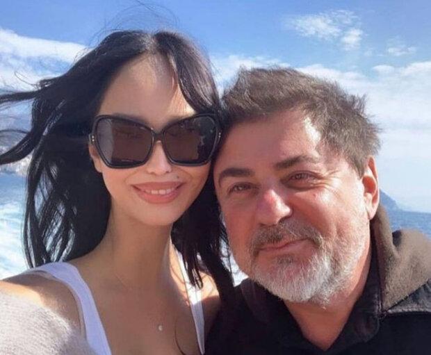 Олександр Цекало з дружиною