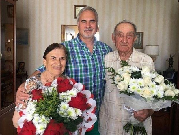 Валерій Меладзе з батьками