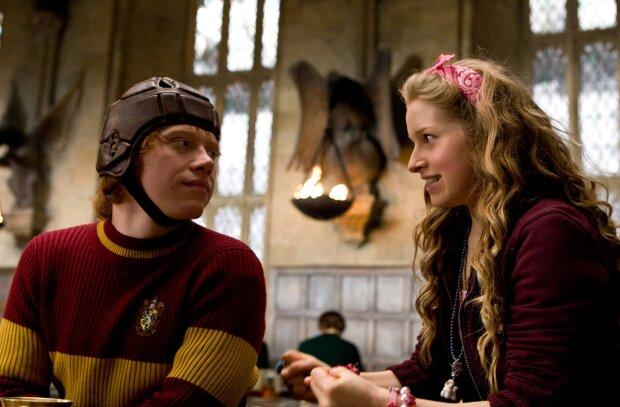 Лаванда і Рон з Гарі Поттеру