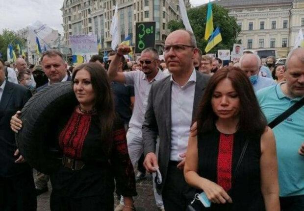 Софія Федина, Андрій Парубій, Вікторія Сюмар