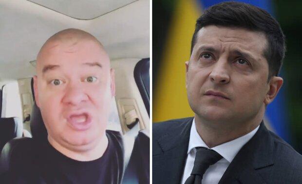 Євген Кошовий та Володимир Зеленський