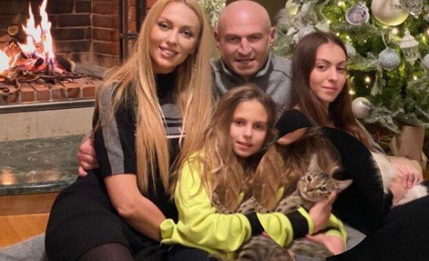 сім'я Олі Полякової