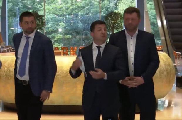 Володимир Зеленський на праймеріз Слуг народу