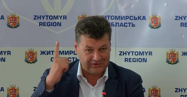Голова Житомирської ОДА Віталій Бунечка