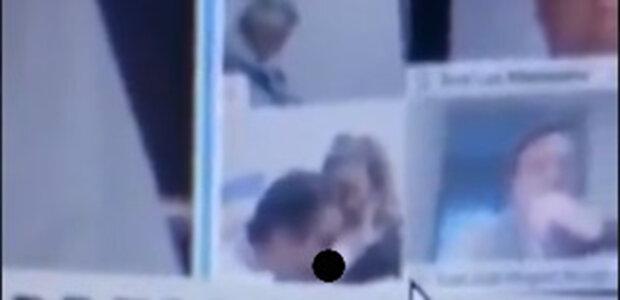 Одружений депутат бавився грудьми коханки під час онлайн наради