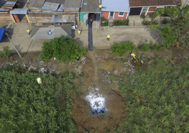 За будинком поліцейського знайшли десятки могил його жертв