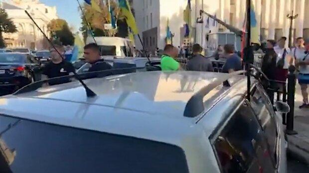 мітинг євробляхерів під Верховною радою