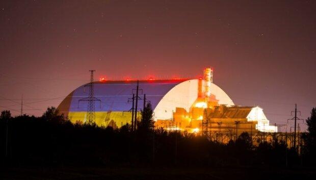 Прапор України у Чорнобилі