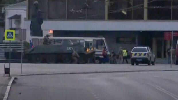 Штурм автобусу у Луцьку