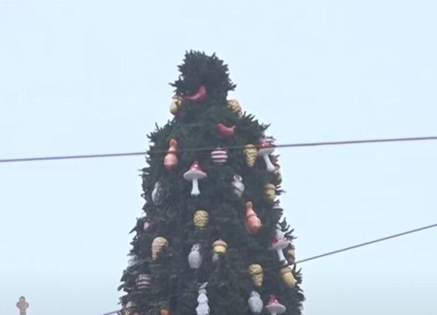 капелюх на ялинці в Києві