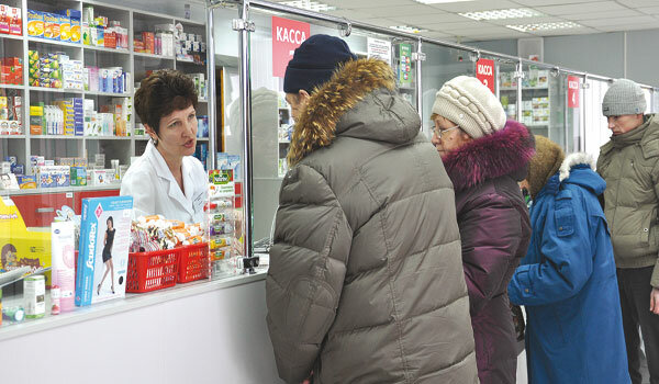 Українці стали постійними клієнтами аптек