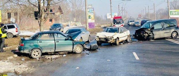 ДТП в Івано-Франківській області