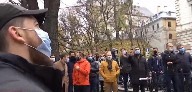 протести проти карантину вихідного дня