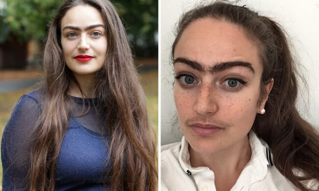 Красотка перестала брить усы назло мужчинам