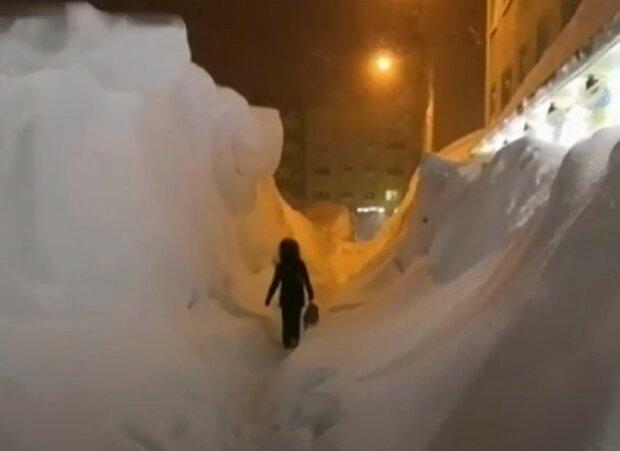 сильний снігопад
