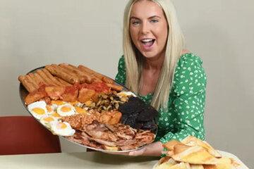 рекордний сніданок на 17000 калорій