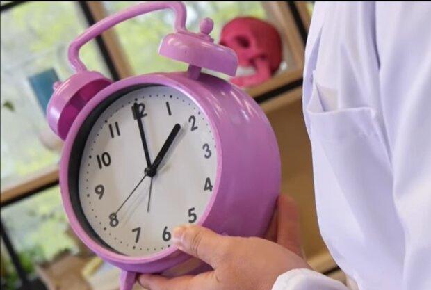 Здоровий сон, кадр з відео
