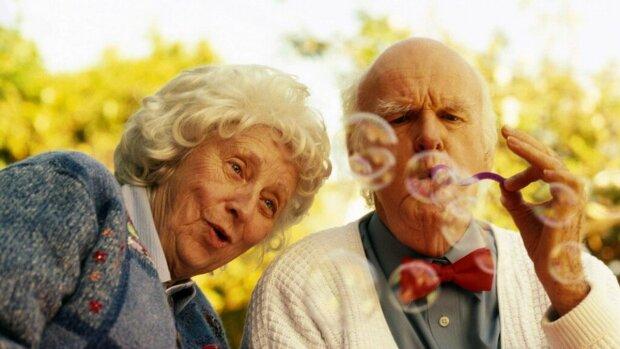 щасливі пенсіонери