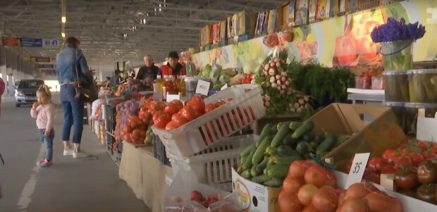 овочі, базар