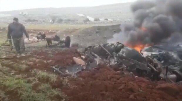 збитий російський вертоліт у Сирії