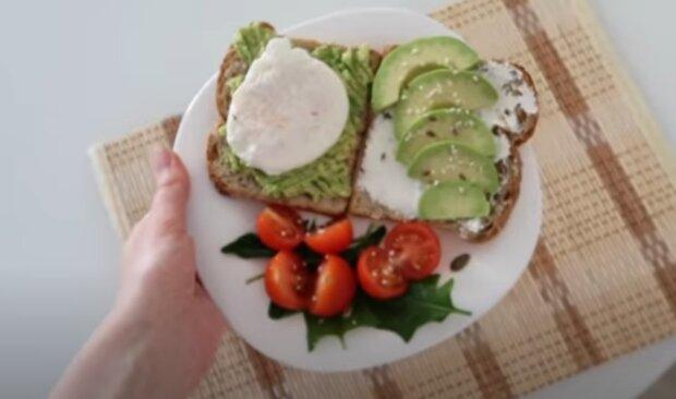 Полезный завтрак. Фото: скриншот видео