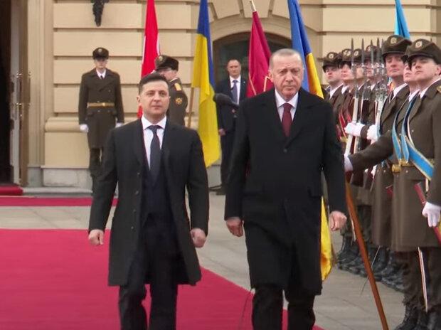 Реджеп Ердоган та Володимир Зеленський