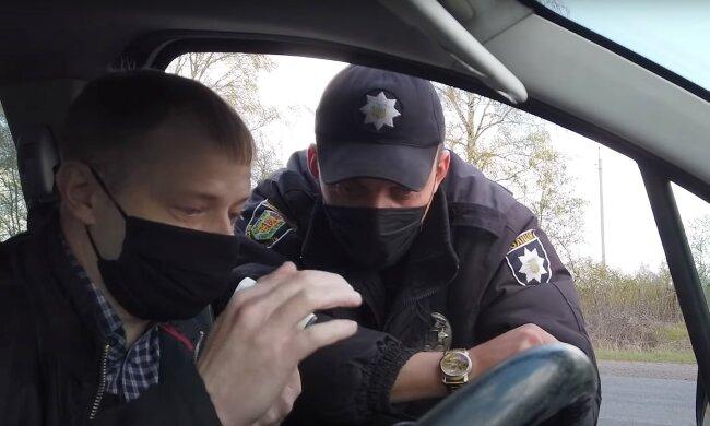 водія зупинила поліція