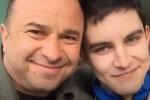 Віктор Павлик з сином