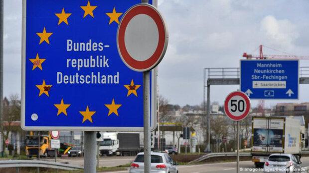 кордон Німеччини, Євросоюз