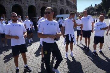 українські футболісти в Римі