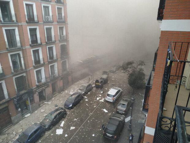 У Мадриді потужний вибух