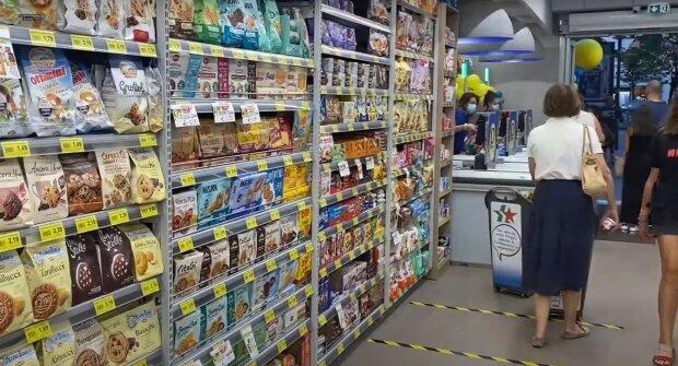 супермаркет, магазин, продукти