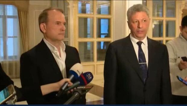 Віктор Медведчук та Юрій Бойко