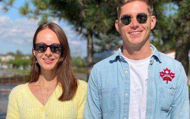 Володимир Остапчук з новою дружиною, фото: instagram.com/vova_ostapchuk