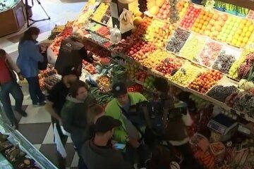 ринок, базар, продукти