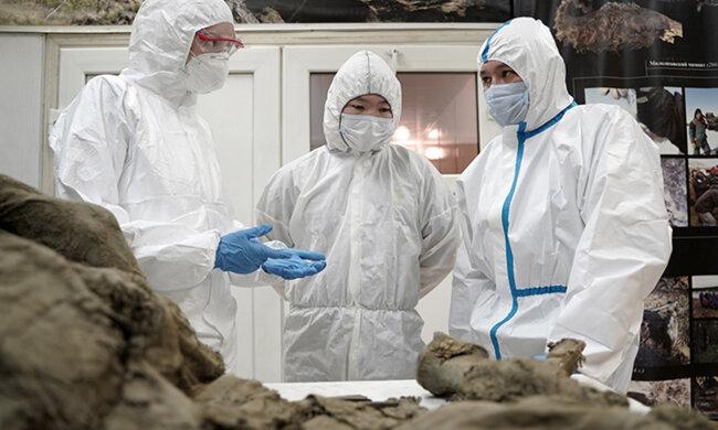 Вчені витягнуть віруси зомбі з трупів древніх тварин