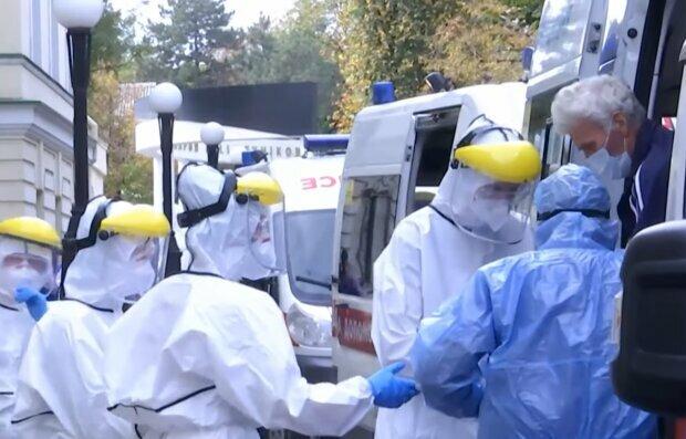 Коронавірус в Україні, фото: кадр з відео