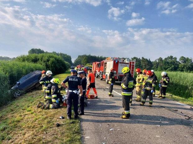 У Польщі розбився автобус з українцями