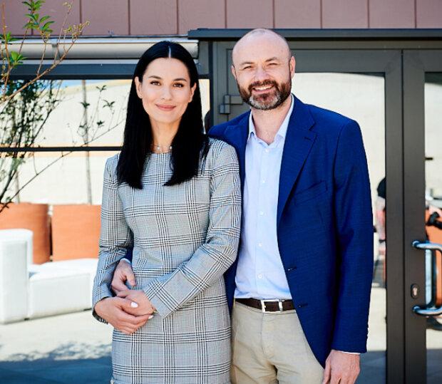 Марія Єфросиніна з чоловіком