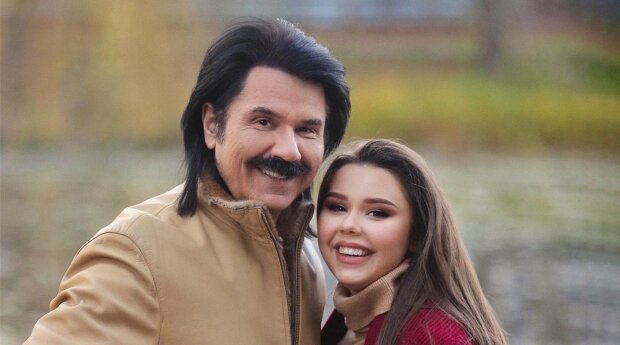 Павло Зібров та донька Діана