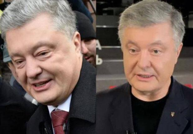 Петро Порошенко в березні і в липні 2020
