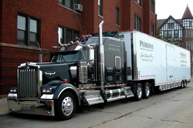 американські дальнобійники, вантажівки